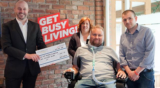 Prism Medical UK Donates to Matt Hampson Foundation