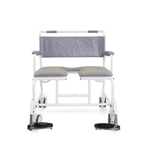 Freeway T100 Bariatric Shower Chair front