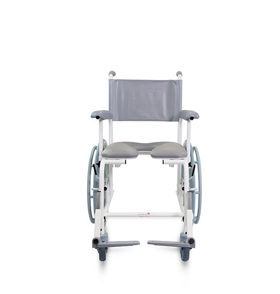 Freeway T70 Com Shower Chair - Prism Medical UK, moving
