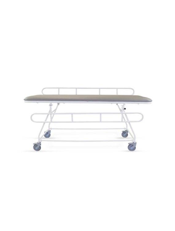 Fixed height changing trolley