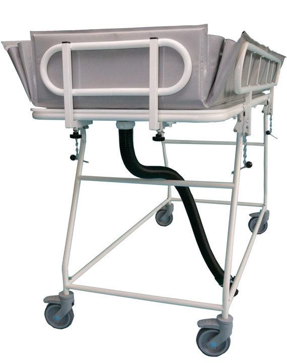 Fixed-shower-Trolley-with-liner