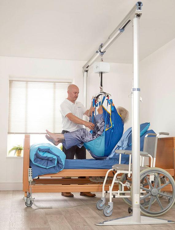cp200 hoist free standing gantry