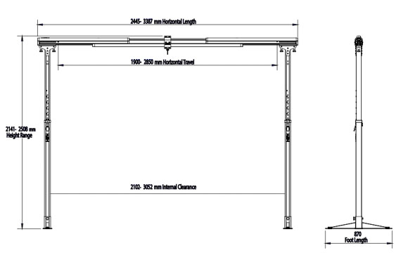 FSG200 Dimensions